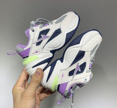 Детские кроссовки Nike M2K Tekno purple р. 26-33 утепленные