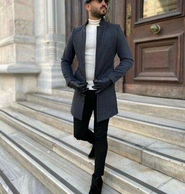 Продано: Пальто мужское весна осень
