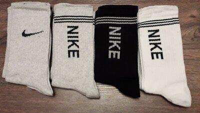 Высокие носки Adidas и Nike. 36-41