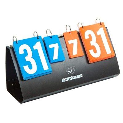 Табло перекидное для игр Sport S 5936 40x18см, трехзначная система счета