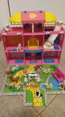 Продано: Собачки .домик для собачек puppyville hotel