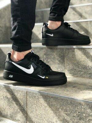 Кожаные кросовочки Nike Air Force