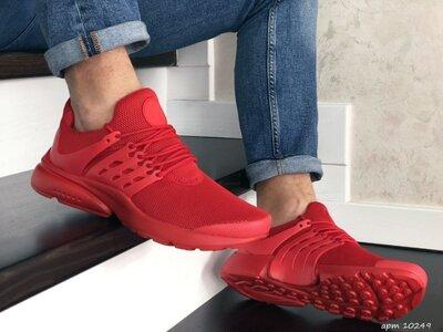 Мужские кроссовки Presto красные р.41-46