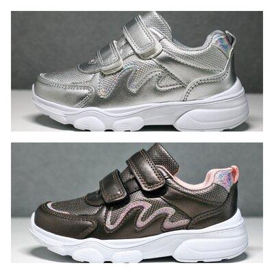 Кроссовки на девочку тм bbt 27-32 р и 32-37 р 2 цвета