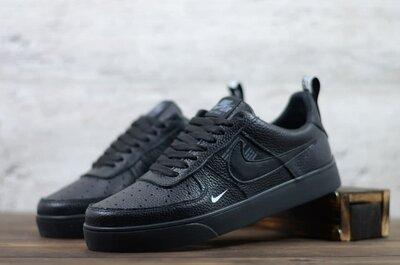 Мужские кожаные кеды Nike