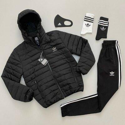 Набор Adidas куртка-штаны-маска-носки 2 пары
