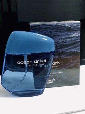 Мужская туалетная вода Оригинал Ocean Drive Deep Blue 100 мл аромат в стиле Bvlgari aqua