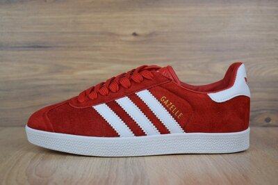 Кроссовки мужские Adidas Gazelle красные скидка 46 размер Sale