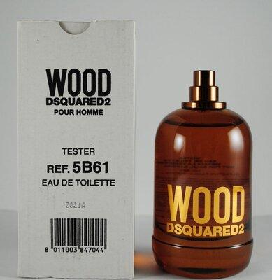 Dsquared2 Wood pour Homme Тестер без крышечки Туалетная вода 100 ml