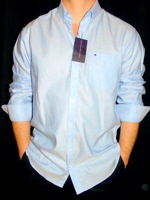 Продано: TOMMY HILFIGER Шикарная брендовая рубашка - XL - L
