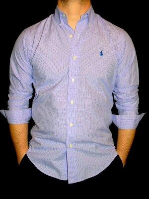 Продано: RALPH LAUREN Шикарная брендовая рубашка - S - M