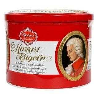 Элитные Шоколадные конфеты Mozartkugeln Maitre Truffout Австрия Марципан 300g традиционные австрийск