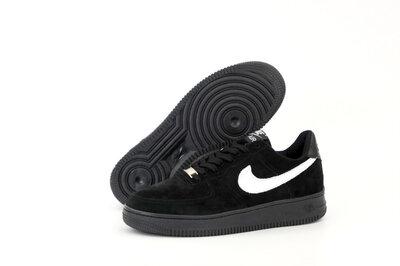 Мужские кроссовки Nike Air Force. Черные.