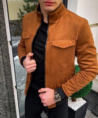 Мужская куртка, в стиле сasual весна/осень Новинка