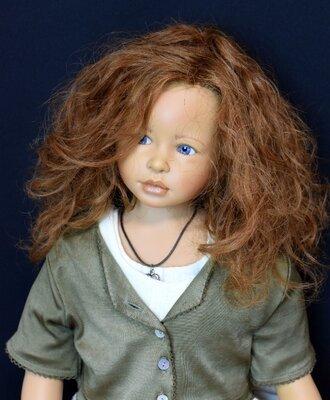 Голубоглазая Николетта кукла Heidi Plusczok, 1999 год, Zapf