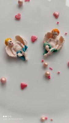 Сахарные Ангелочки для украшения кондитерских изделий