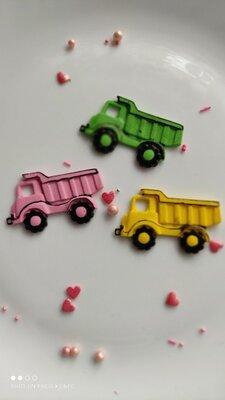 Сахарный грузовик для украшения кондитерских изделий