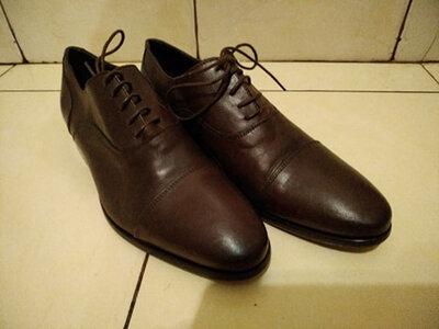 Туфли мужские итальянские классика 39 р-ра