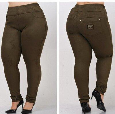 Замшевые стильные брюки на р. р. 42-44-46-48-50-52-54-56-58-60 размеры 62-64-68-70 под заказ