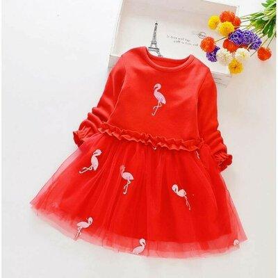 Сукня для дівчинки Flamingo червона