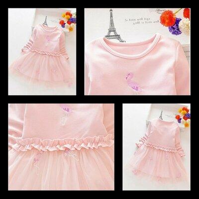 Сукня для дівчинки Flamingo рожева