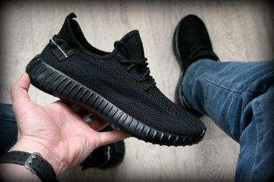 Крутые Мужские черные кроссовки Изи буст чорні чоловічі кросівки ізі буст адидас