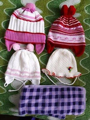 Зимние и весенние шапки