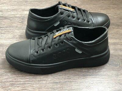 Мужские кроссовки Ecco из натуральной кожи