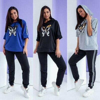 Спортивный костюм Флай 3 цвета 48 - 58