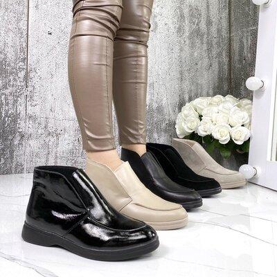 Женские кожаные ботинки Loro Piana