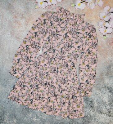 Подростковое весеннее платье, легкое и воздушное, отличное качество