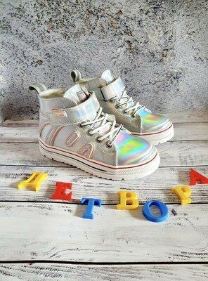 Продано: Крутые демисезонные ботинки на девочку