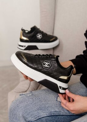 Женские кроссовки Chanel Sneakers LB   36-40.
