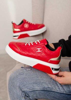 Женские кроссовки Chanel Sneakers LR | 36-40.