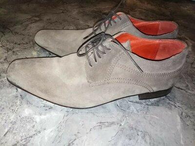Туфли замшевые Next, Италия