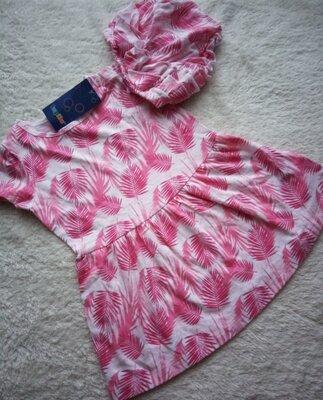 Набір для дівчинки плаття і трусики під памперс