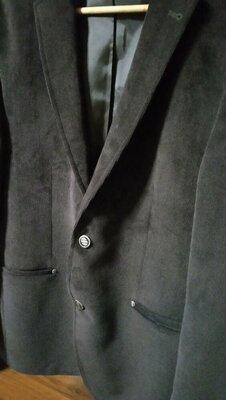 Продано: Пиджак мужской велюровый