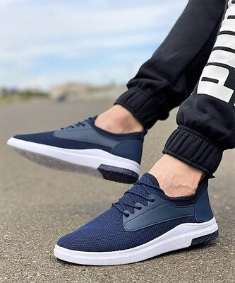 Кросівки чоловічі сині на літо Z79-2