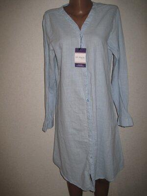 Натуральное платье рубашка My Polo размерXXL