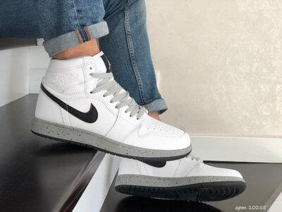 хайтопы Nike Air Jordan, 41-46 размер, кроссовки, ботинки, деми, новинка, обнова