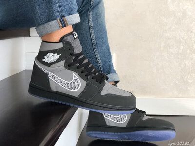 Кроссовки Nike Air Jordan, 41-46 размер, хайтопы, ботинки деми, унисекс, новинка, подарок
