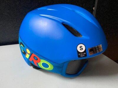 горнолыжный шлем с очками giro launch размер S детский.