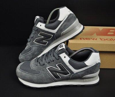 чоловічі кросівки New Balance 574 сірі