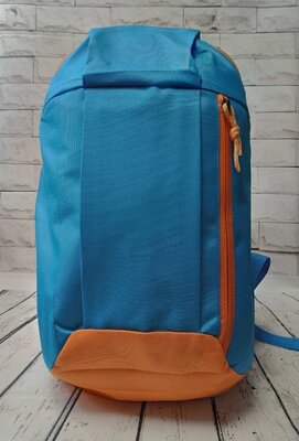 Городской спортивный рюкзак голубой 10 л.