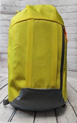Городской спортивный рюкзак желтый 10 л.