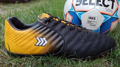 Мужские футбольные кроссовки бутсы бампы копы футзалки сороконожки restime р. 36-45