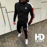 Мужской спортивный костюм Adidas Адидас . Р-Ры 48-56. Пр-Во Индонезия