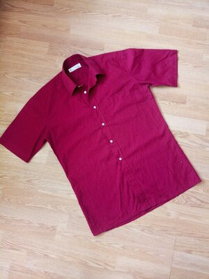 Летняя фирменная рубашка,короткий рукав. Marks & Spencer
