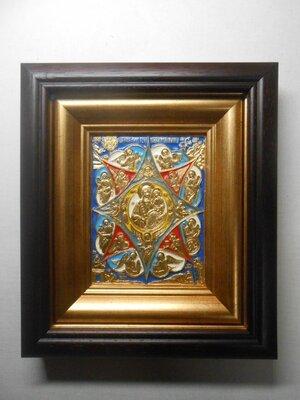 Икона Неопалимая Купина золото