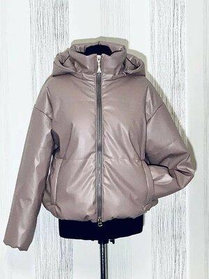 Куртка екошкіра куртка деми екокожа